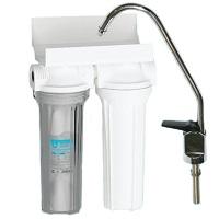 Aquatech Фильтр для воды 2 ступени (прозрачный корпус)