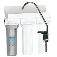 Aquatech Фильтр для воды 3 ступени (прозрачный корпус)