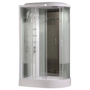 COMFORTY 213L стекло страйп, задняя зеркальная панель, 1200*850*2150