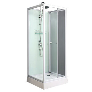 COMFORTY 606 прозрачное стекло низкий поддон 800*800*2200