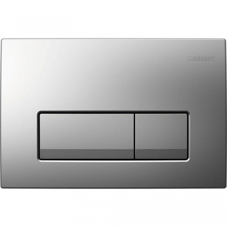 Geberit 115.105.21.1 смывная клавиша DELTA51 (пластик/хром) - купить в Тюмени
