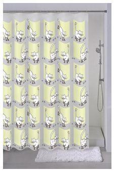 Milardo Штора для ванной комнаты Cozy cats 528V180M11