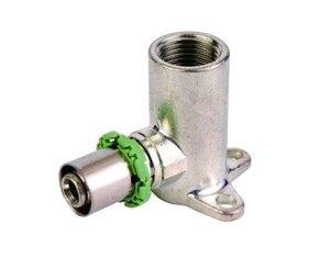 Пресс фитинг Comap угольник с креплением 16х1/2 H=53 мм 771BCX - купить в Перми