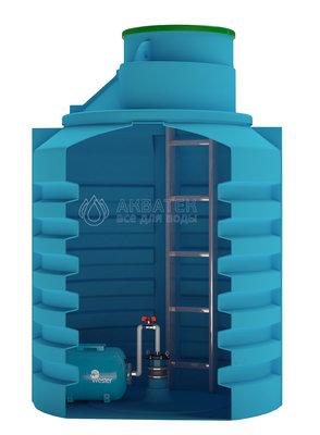 Aquatech Кессон 3м3 (для обсадной трубы 125-133мм.)