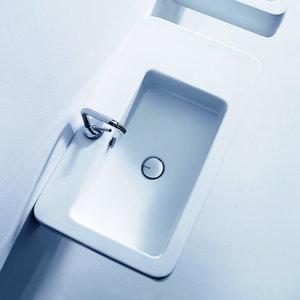 Kerasan 3243 EGO чаша расположена ассиметрично 75*43 см