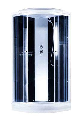 Aquapulse 4122D 900*900*2200мм низкий  поддон (grey black)