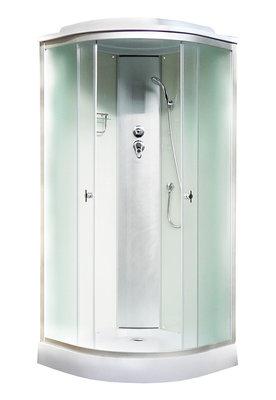Aquapulse 4122D 900*900*2200мм низкий  поддон (fabric white)