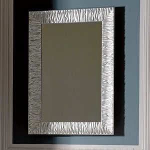 Kerasan 736502 Retro с рамой из дерева 70х100 см, серебро