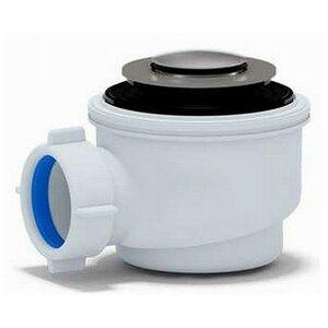 Triton Сифон для душ.поддона 1 1/2**50/60 хром, клик-клак (Е410CL)