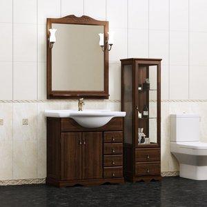 OPADIRIS с зеркалом Клио 80, Орех антикварный