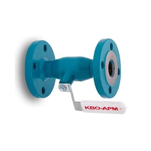 Кво-Арм Кран шаровый стальной фланцевый Ду100 Pу16 - купить в Екатеринбурге