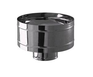 Ferrum Зонт нержавеющий (430/0,5 мм) ф120 с ветрозащитой