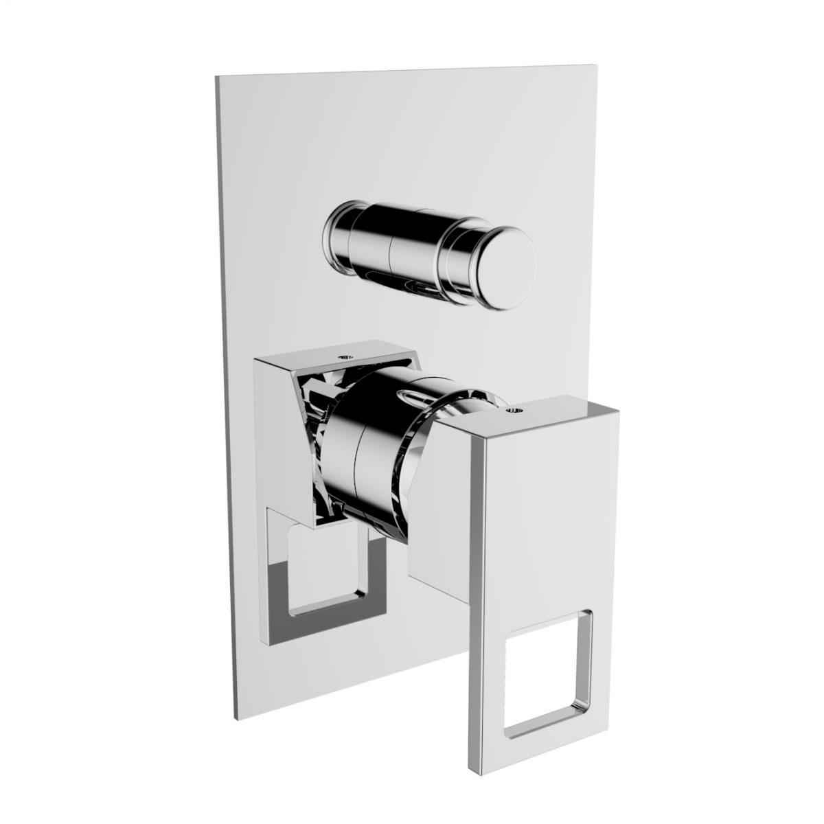 Смеситель для душа Zipponi GLAM TWO Накладная декоративная панель GT017CR-001 - купить в Перми