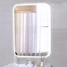 Зеркало для ванной Agava Glamour LED 685x915,  с сенсором - купить в Челябинске
