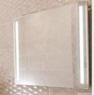 Зеркало для ванной Agava Glossy Led 800х600 с механической кнопкой - купить в Екатеринбурге