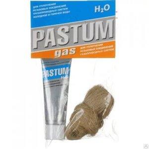 PASTUM GAS 60г., для газа паста+лён 15г.