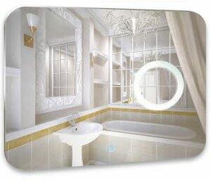 Зеркало для ванной AGAVA Elegant LED 800х600 с подогревом, музыкальным блоком ЗЛП174 - купить в Нижневартовске
