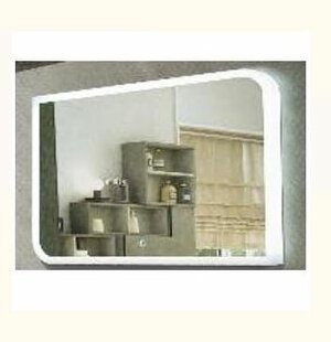 Зеркало для ванной AGAVA Fantasy LED 800х600 с часами - купить в Нижневартовске