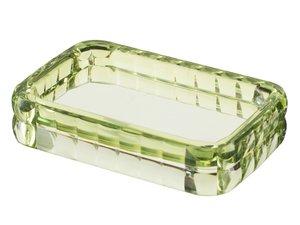FIXSEN GLADY Мыльница зеленая термопластик FX-11-04 - купить в Екатеринбурге
