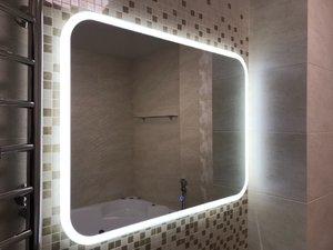 Agava Demure LED 915х685 с подогревом, музыкальным блоком