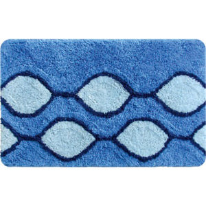 IDDIS Curved Lines, blue Коврик для ванной комнаты 400A580I12