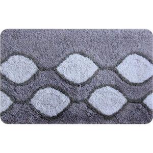 IDDIS Curved Lines, grey Коврик для ванной комнаты 401A580I12