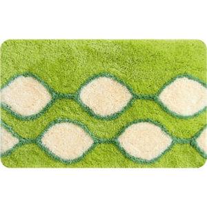 IDDIS Curved Lines, green Коврик для ванной комнаты 402A580I12