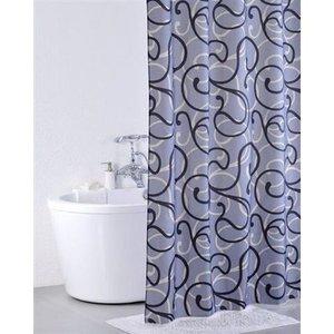 IDDIS Flower Lace, grey Штора для ванной комнаты 410P20RI11