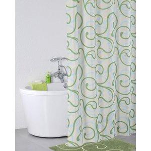IDDIS Flower Lace, green Штора для ванной комнаты 412P20RI11 - купить в Екатеринбурге