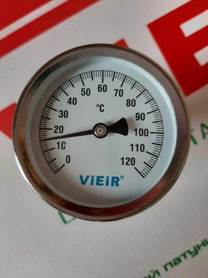 VIEIR Термометр биметаллический 120° 1/2