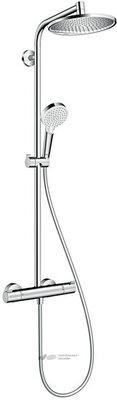 HANSGROHE для душа Crometta S 240 1jet Showerpipe, EcoSmart, 9 л/мин, 27268000