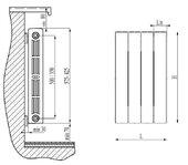 Биметаллический радиатор RIFAR SUPReMO VENTIL 500 SVL 10 секций - купить в Сургуте