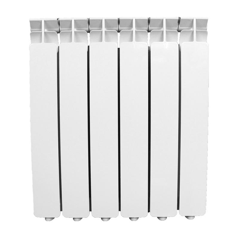 Биметаллический радиатор AQUAPROM BI 500/80 6 секций, теплоотдача 660 Вт - купить в Челябинске