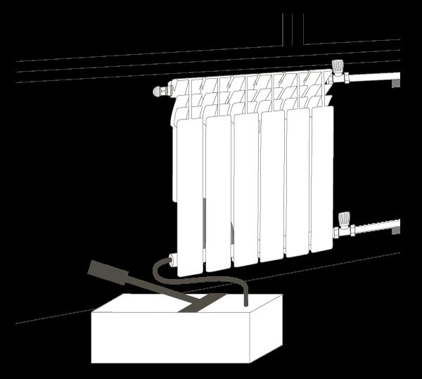 Биметаллический радиатор AQUAPROM BI 500/80 8 секций, теплоотдача 880 Вт - купить в Екатеринбурге