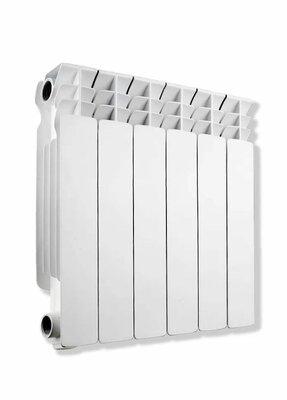Биметаллический радиатор AQUAPROM BI B41 Радиатор биметаллический 350/80 10с., 920 Вт - купить в Екатеринбурге