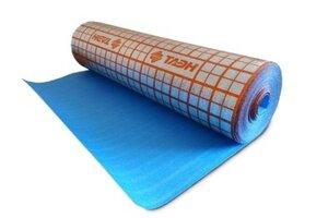 ТАЭН Подложка для теплого пола 3 мм (ширина-1,2 м, длина-25 м), рулон-30 кв.м.