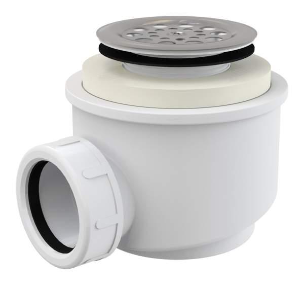 ALCA PLAST Сифон для душевого поддона, d-50 (мм), с нержавеющей решеткой - купить в Сургуте