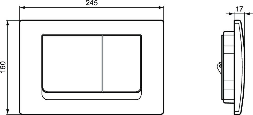 Напольный унитаз Ideal Standard Коннект горизонтальный слив, c функцией биде, белый - купить в Екатеринбурге