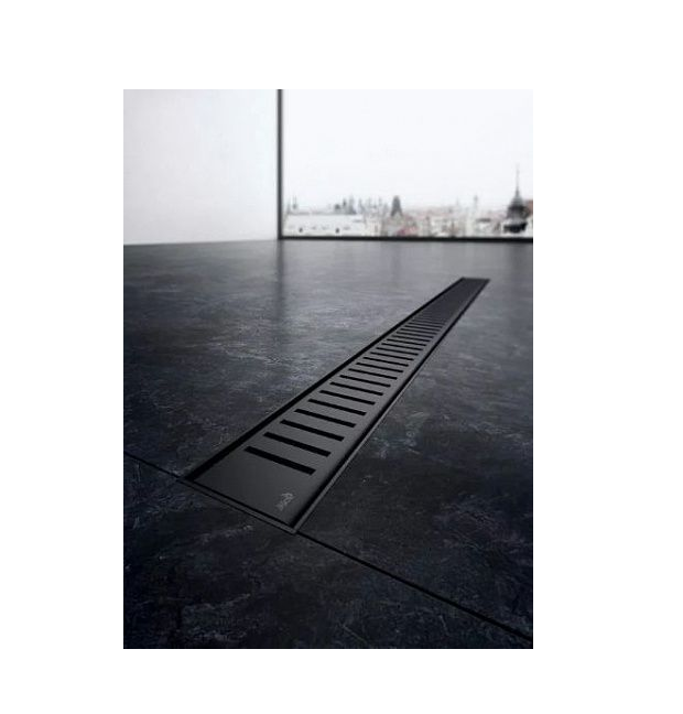 ALCA PLAST Решетка для водоотводящего желоба, чёрная матовая 550 (мм) - купить в Екатеринбурге