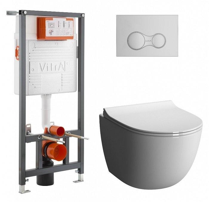 Комплект унитаз с инсталляцией VITRA Sento L-Box - купить в Екатеринбурге