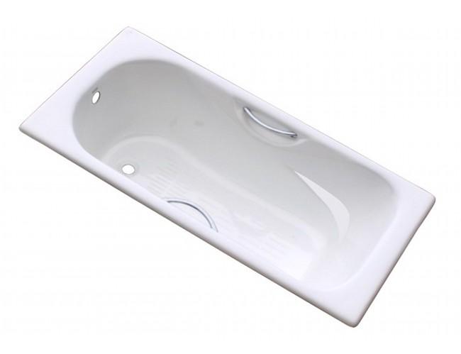 Ванна чугунная GOLDMAN Donni 1700*750*410 с ножками и ручками - купить в Тюмени
