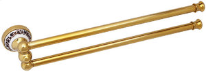 FIXSEN BOGEMA-GOLD Полотенцедержатель рога двойные FX-78502АG - купить в Екатеринбурге