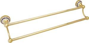 FIXSEN BOGEMA-GOLD Полотенцедержатель 60 см двойной FX-78502G - купить в Екатеринбурге