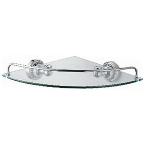 FIXSEN BOGEMA Полка стекло угловая  FX-78503А